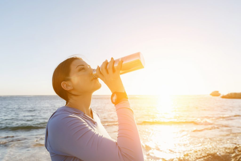 Water from a Tyent water ionizer is ultra-hydrating.