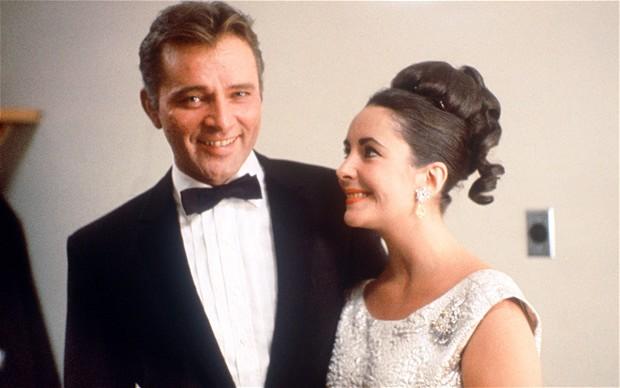Elizabeth Taylor and Richard Burton