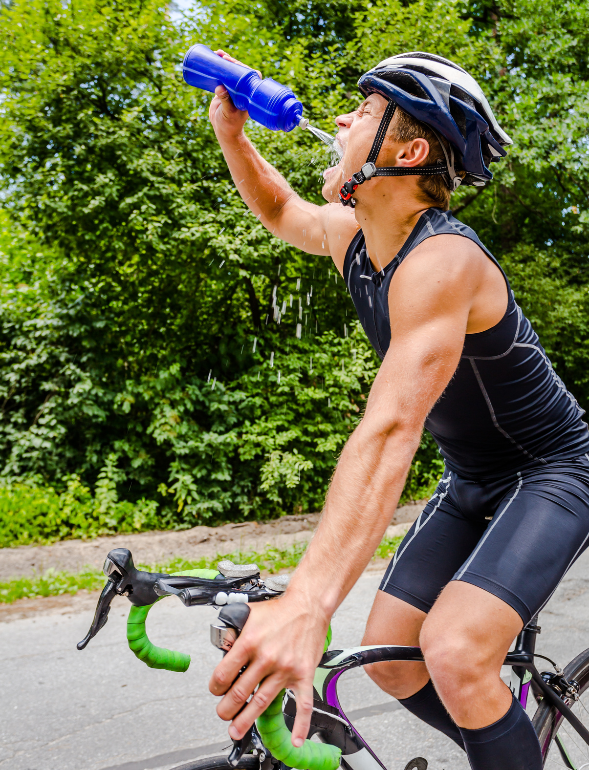 Alkaline water is great for athletes and anyone on the go!
