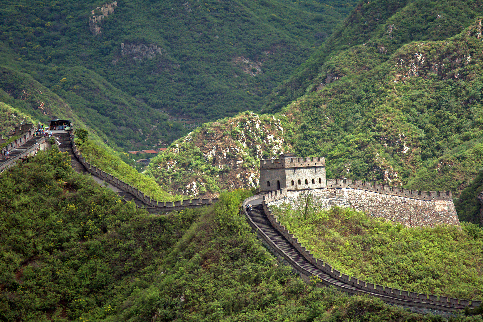 The Great Wall of China was built by the Qin Dynasty. What will the Tyent Dynasty build next?