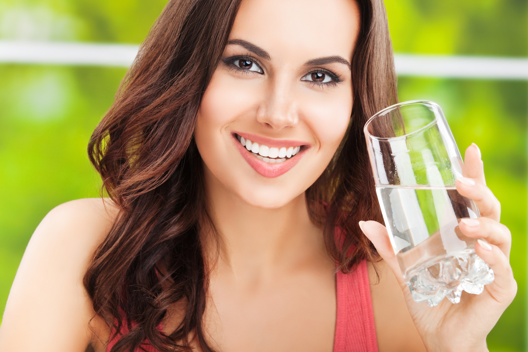 Healthy water and healthy skin go together.