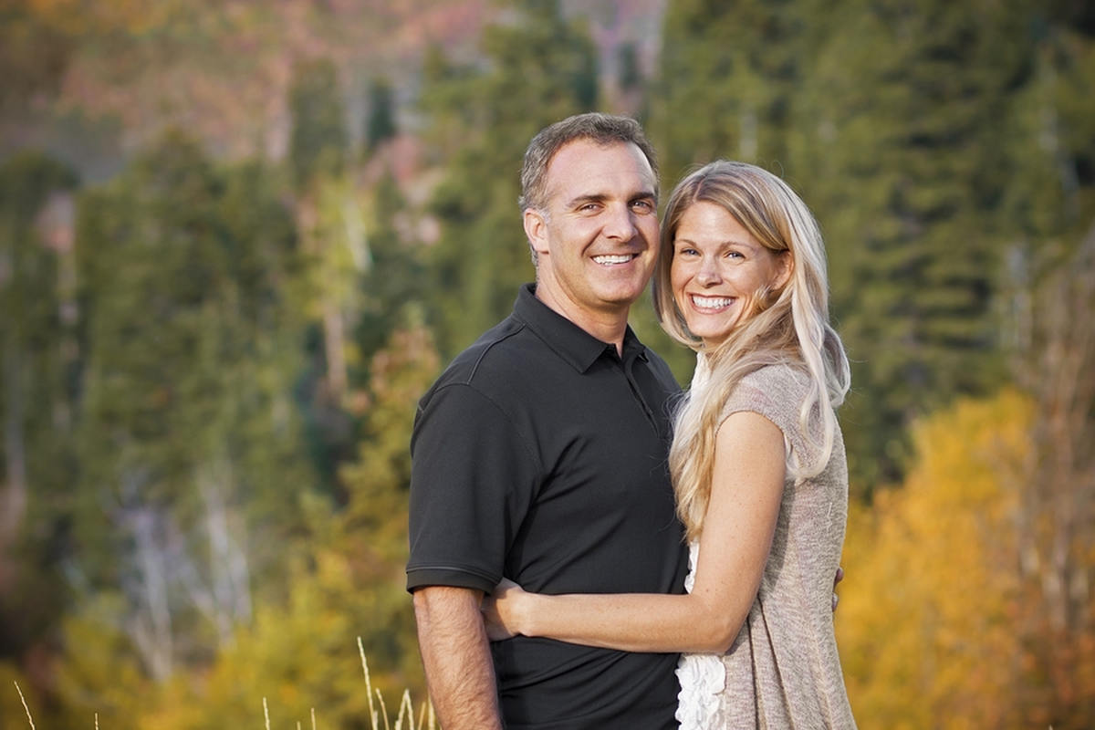 Happy mature couple outdoor   Slowing Down the Aging Process with Alkaline Water