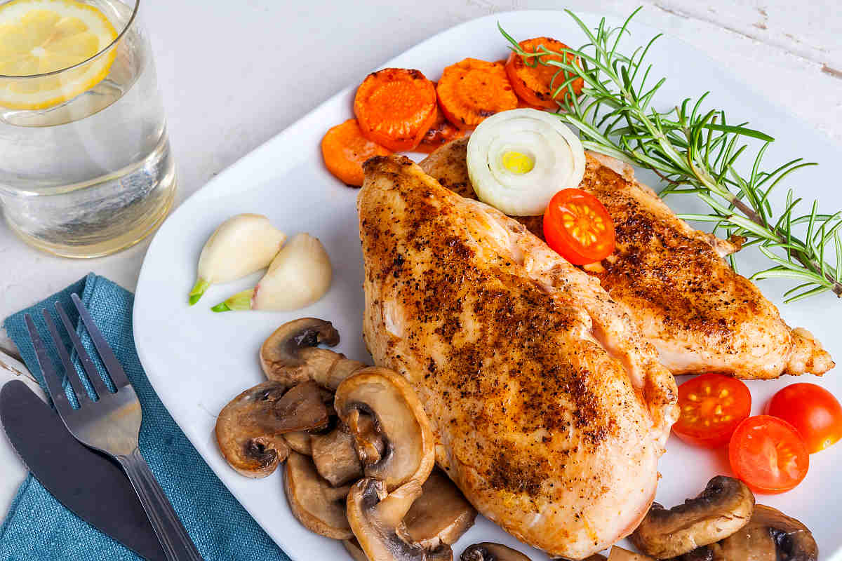 Baked Chicken Breast mushroom | Most Nutritious Foods to Add to Your Diet