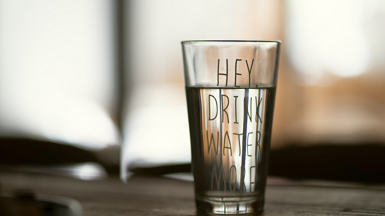 Feature | Clear drinking glass | How To Drink More Water | Ways To Stay Hydrated
