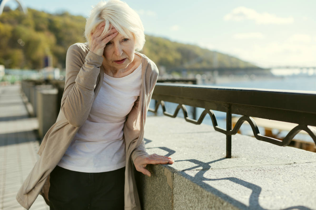 Distressing pensioner having headache | Dehydration | Signs, Symptoms and Prevention