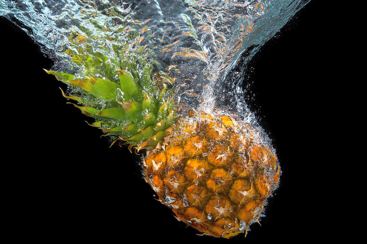 Pineapple underwater fruit water | Fruits and Veggies That Can Keep You Hydrated