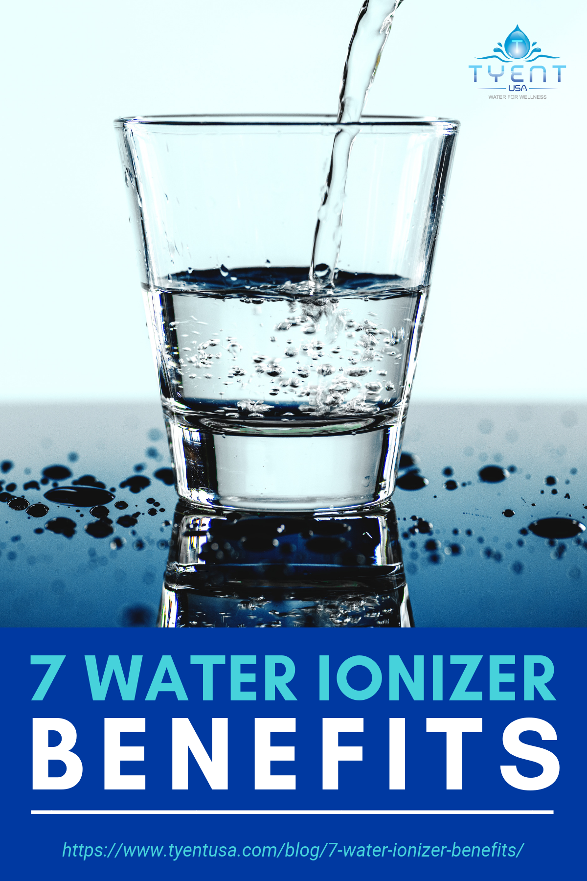 7 Water Ionizer Benefits! | https://www.tyentusa.com/blog/7-water-ionizer-benefits/