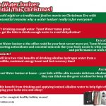 5 Reasons Why a Water Ionizer is a Family Essential This Christmas!