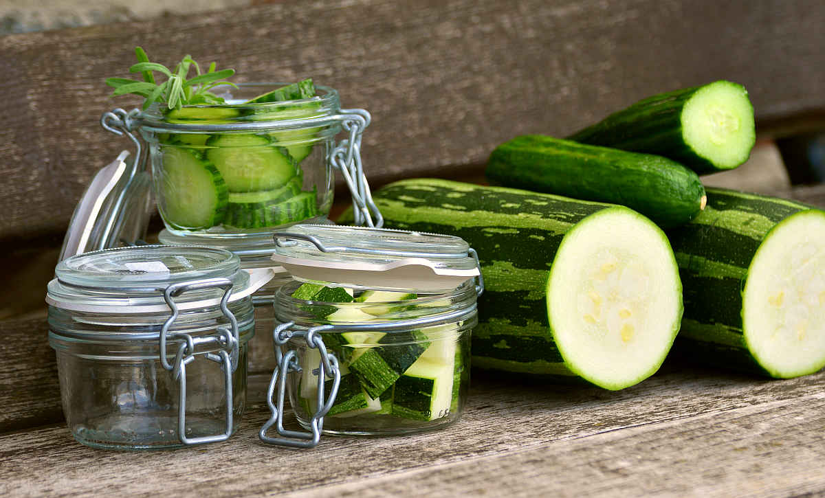 Zucchini vegetables cucumber | Fruits and Veggies That Can Keep You Hydrated