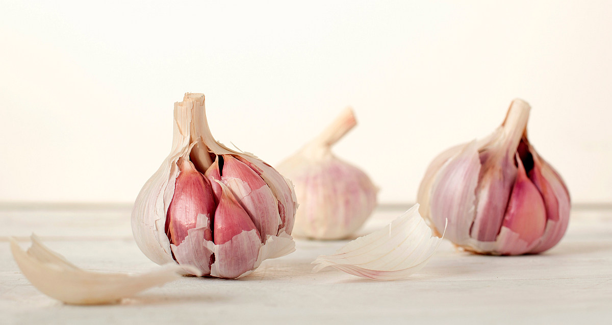 Three Garlic cloves | Most Nutritious Foods to Add to Your Diet