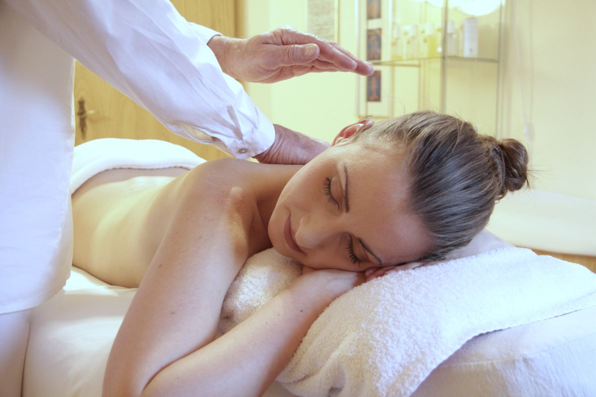 woman having a massage | Ways To Restore Your Body's pH Balance | healthy ph balance