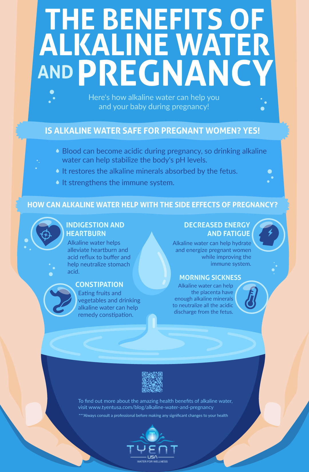 Benefits of Alkaline Water And Pregnancy [INFOGRAPHIC]