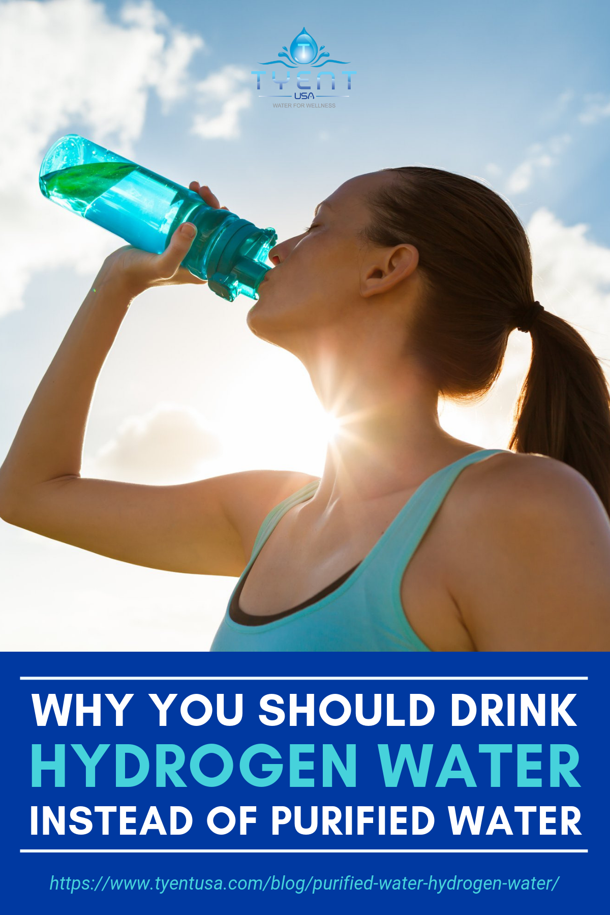 Why You Should Drink Hydrogen Water Instead Of Purified Water https://www.tyentusa.com/blog/purified-water-hydrogen-water/