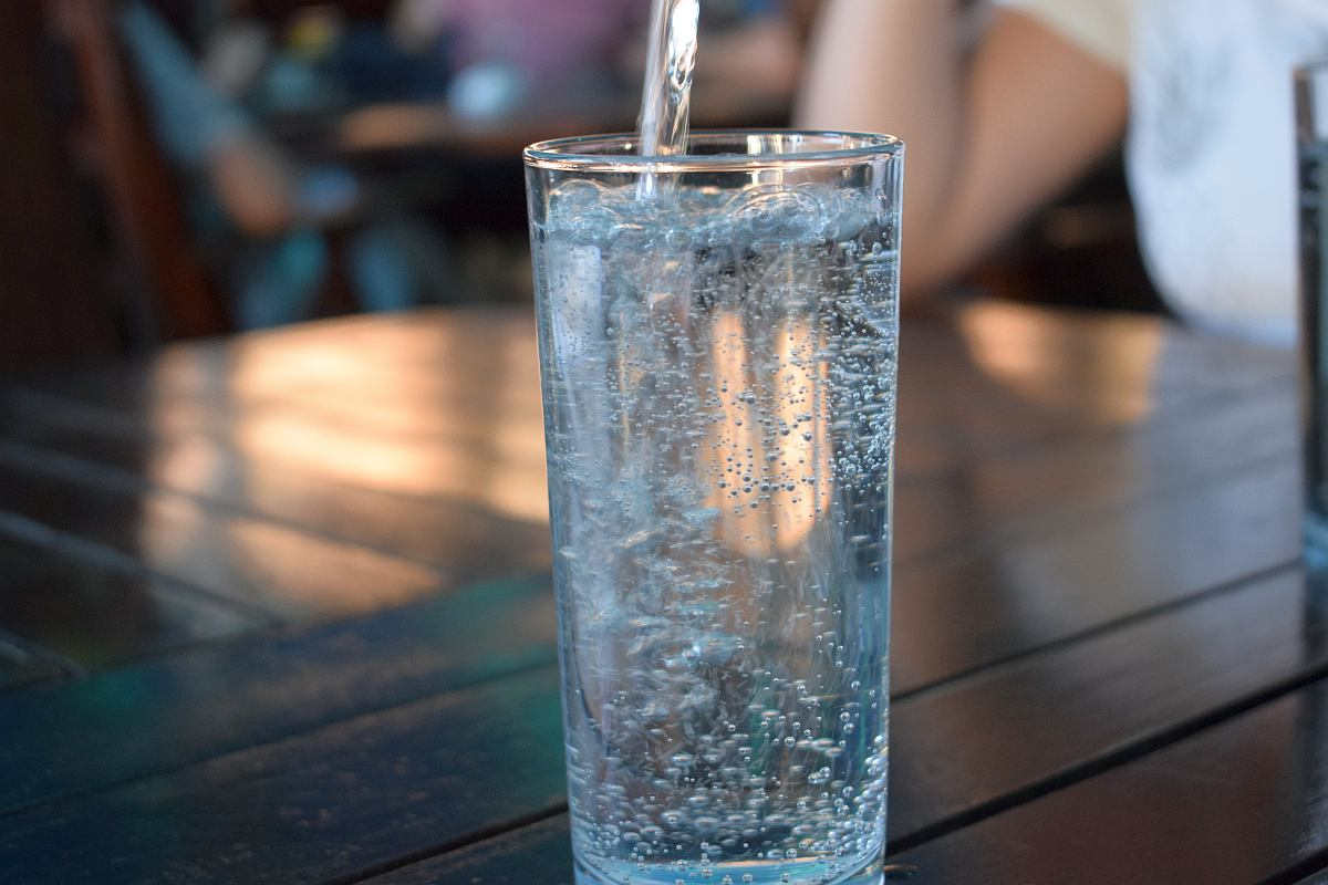 Water in a tall glass | Types Of Water To Drink