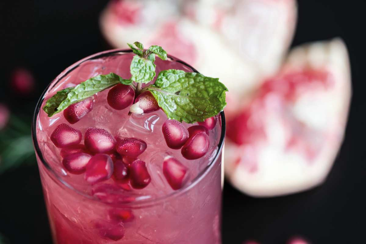 Pomegranate juice in a glass | Healthy Juice Recipes You Should Try