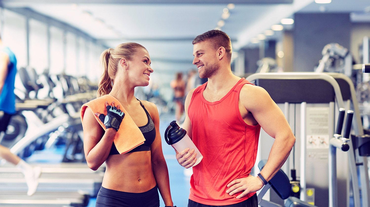 Feature | Smiling couple after work out | The Importance Of Good Hydration When Working Out