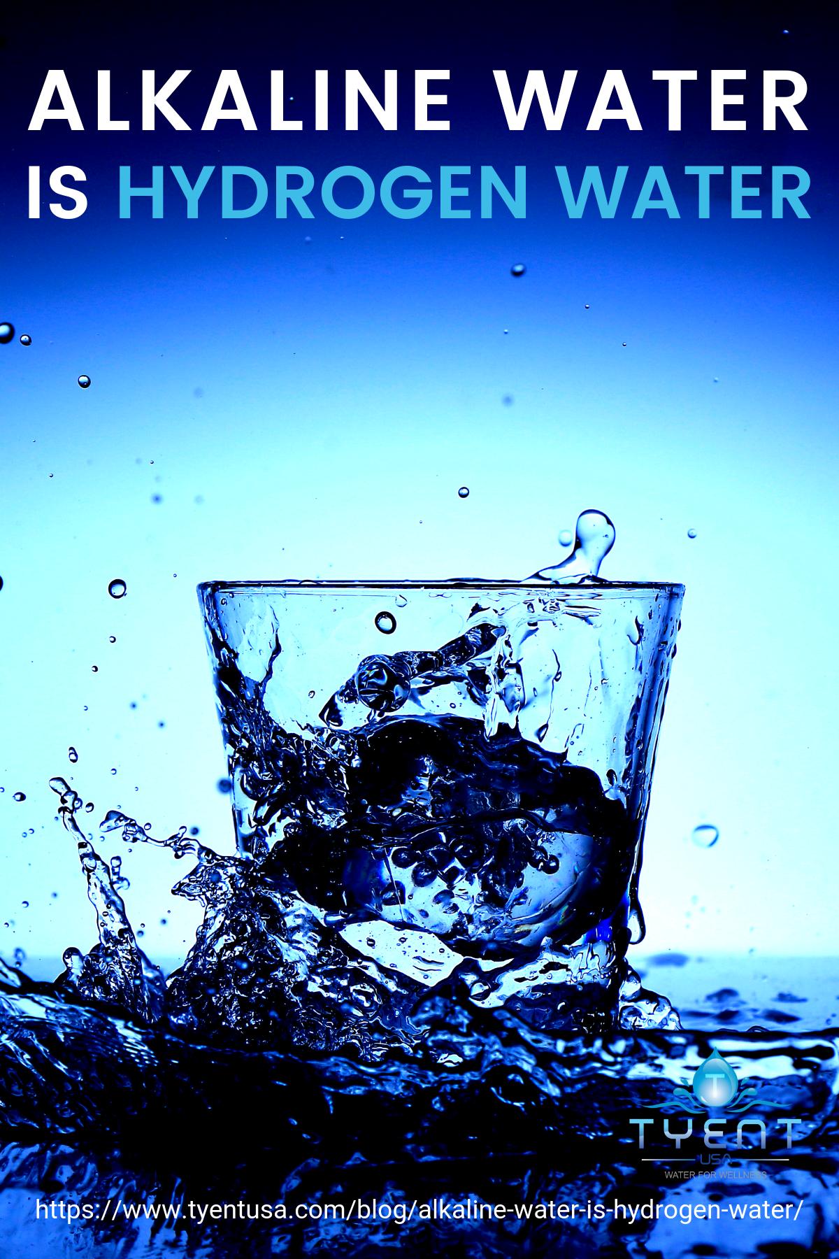 Alkaline Water is Hydrogen Water https://www.tyentusa.com/blog/alkaline-water-is-hydrogen-water/