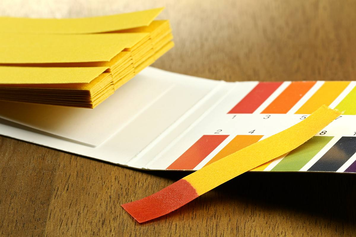 Litmus paper on table | What Exactly Is pH Level and Why Should I Care?