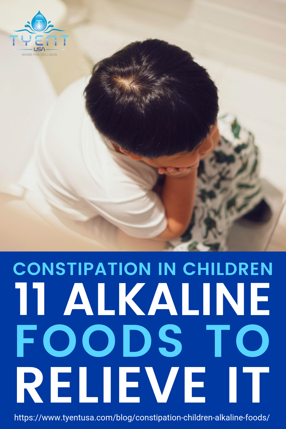 Constipation In Children: 11 Alkaline Foods To Relieve It https://www.tyentusa.com/blog/constipation-children-alkaline-foods/