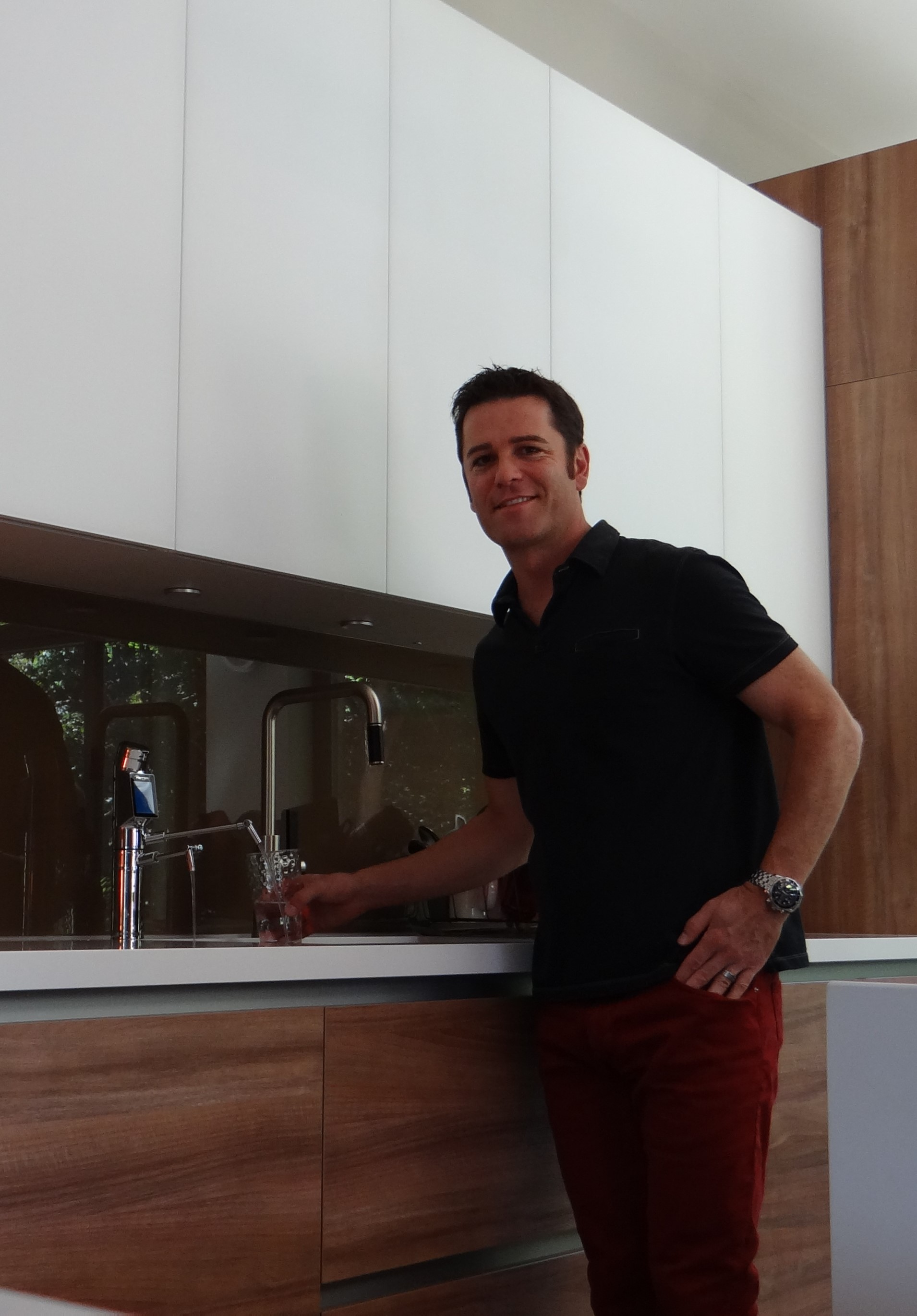 Yannick Bisson is a famous fan of Alkaline Water!