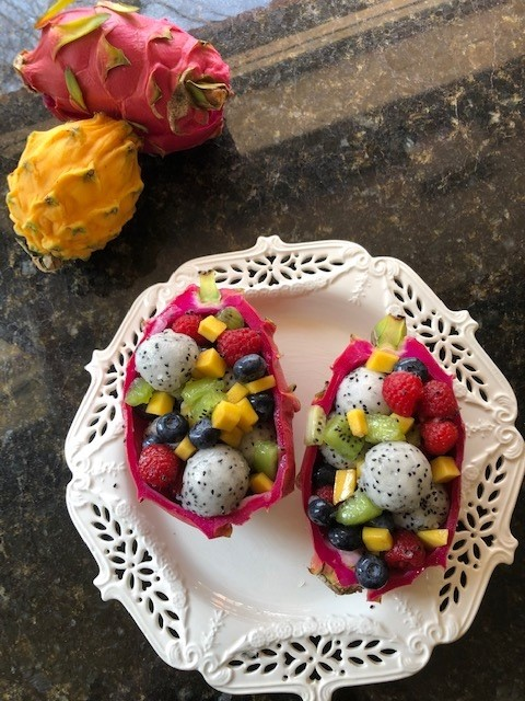 Alkaline Recipe Dragon Fruit Salad