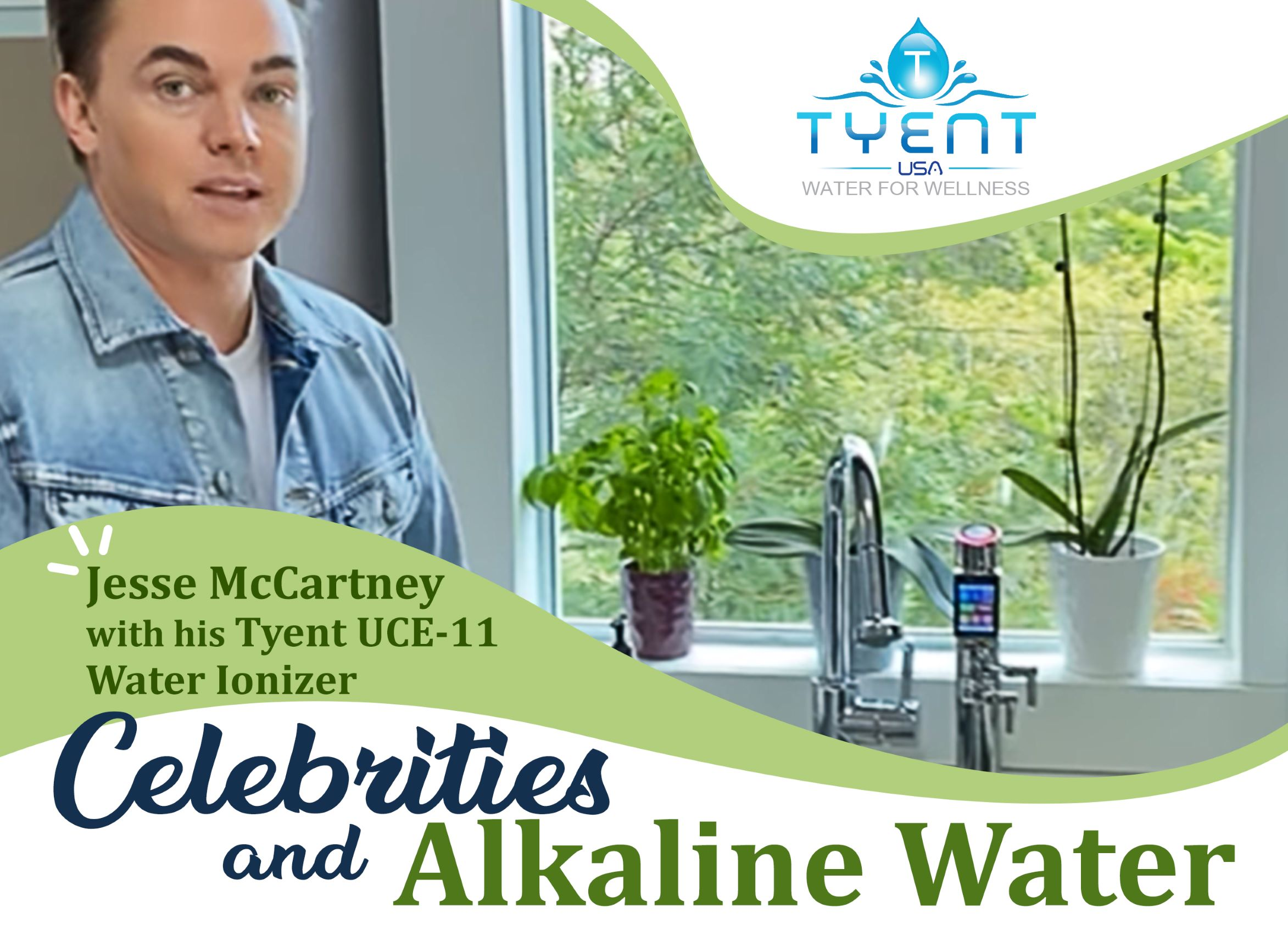 Celebrities and Alkaline Water