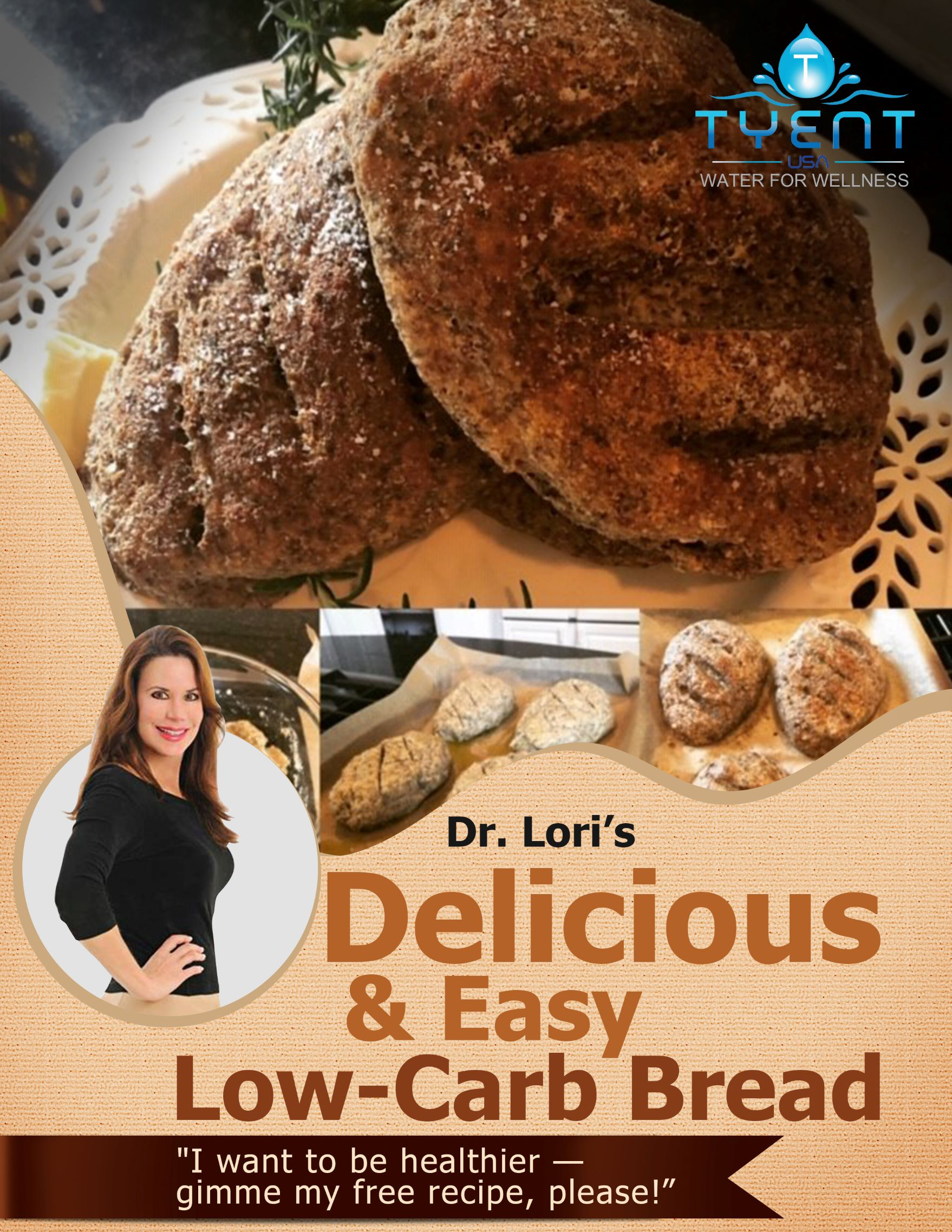 Dr Lori low carb bread