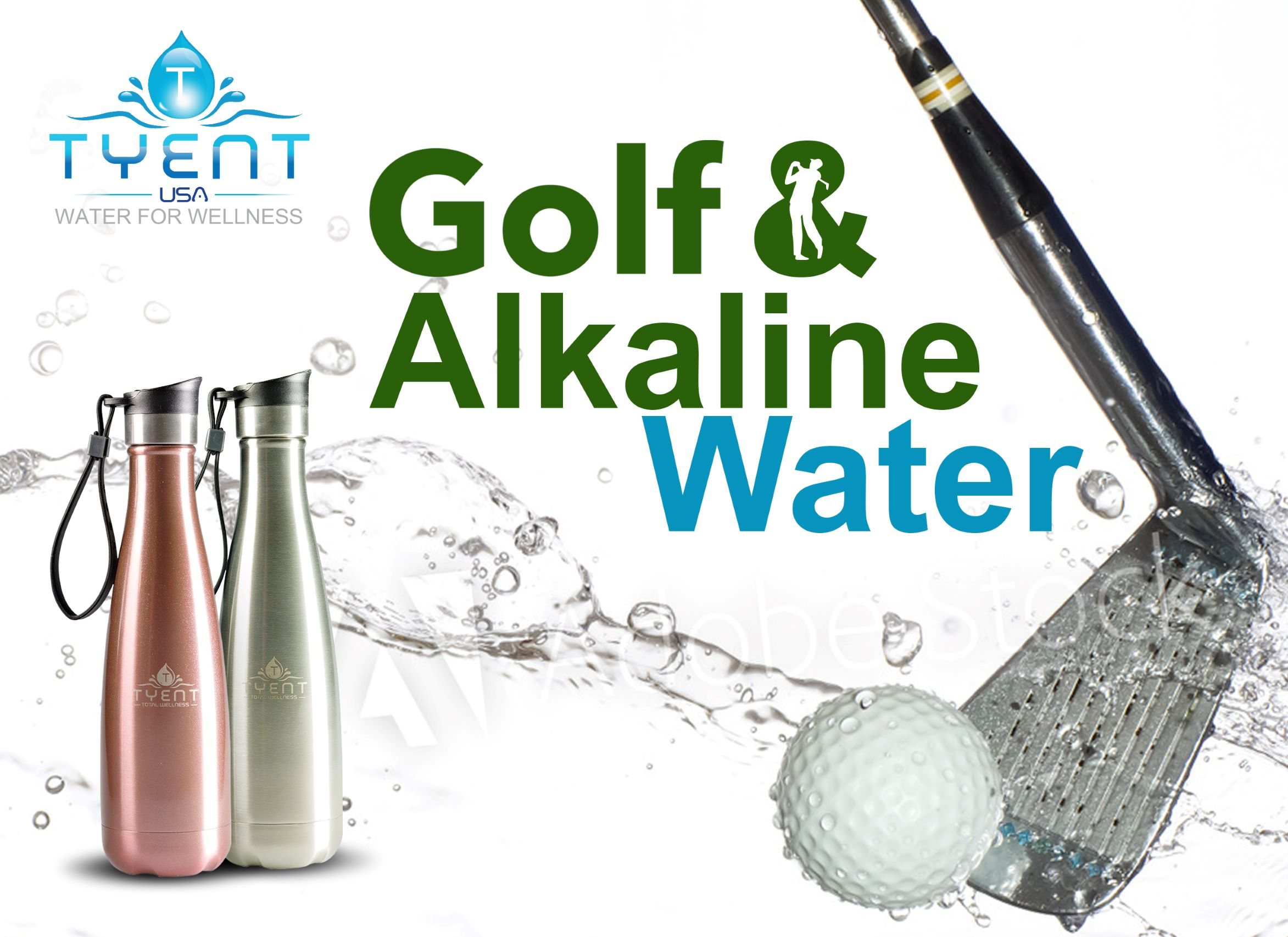 Golf and Alkaline Water