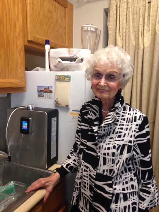 Alkaline Water and Aging – Reaping the Benefits at 101 Years Old!