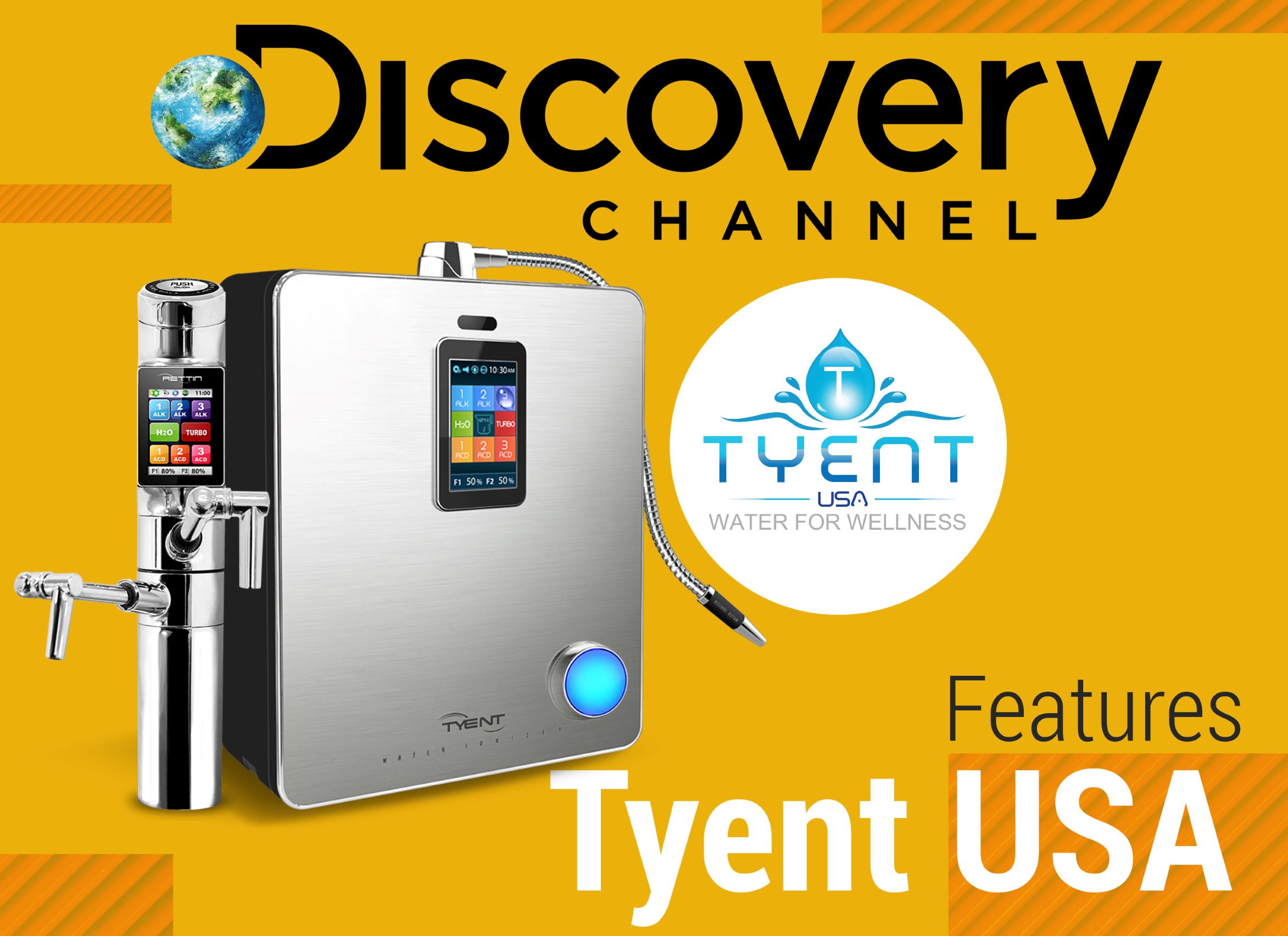 Discovery Channel Features Tyent USA
