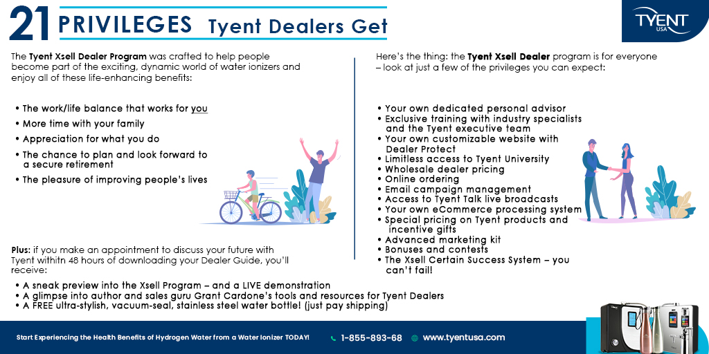 21 Privileges Tyent Dealers Get