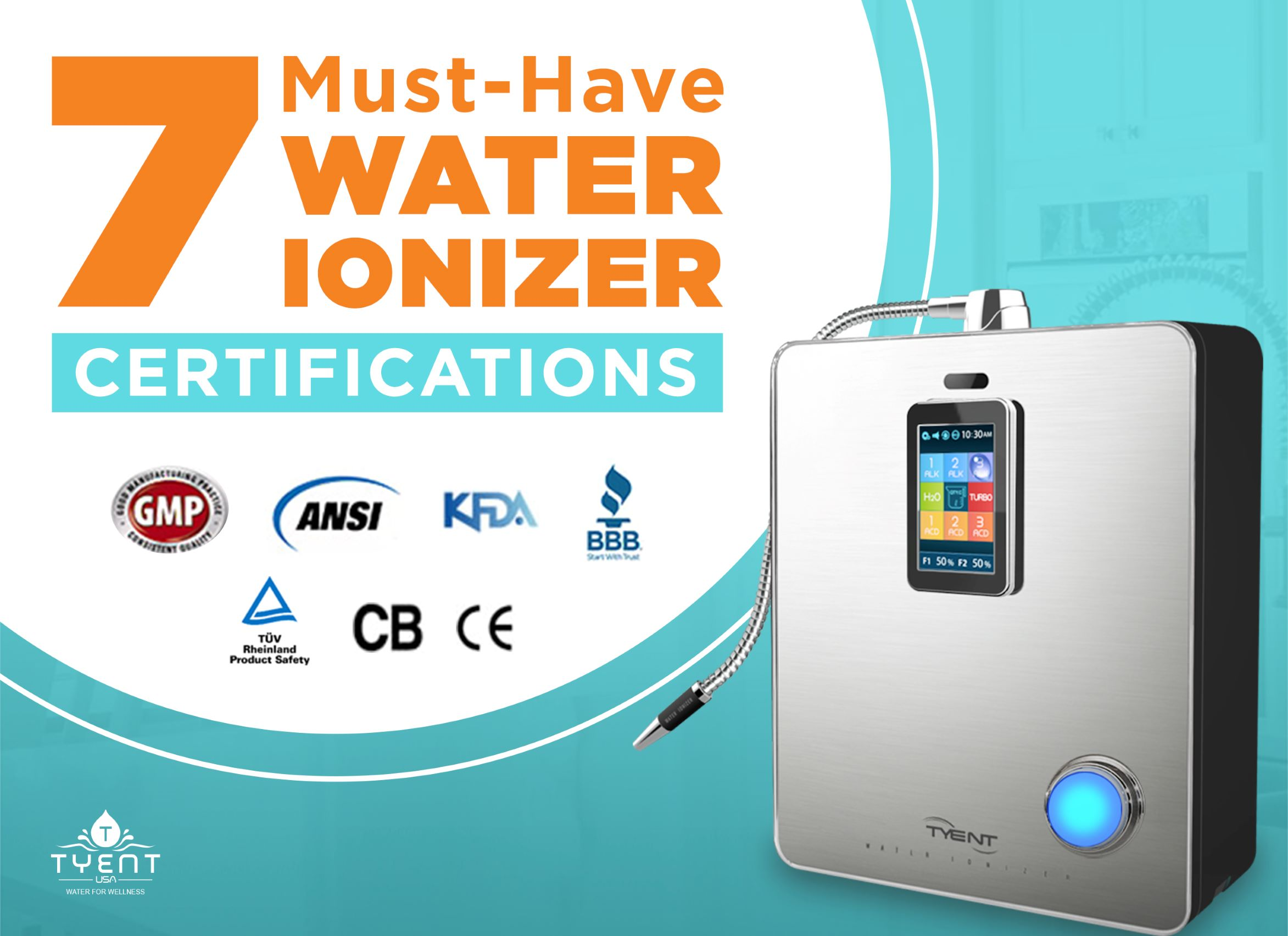 7 Must-Have Water Ionizer Certifications