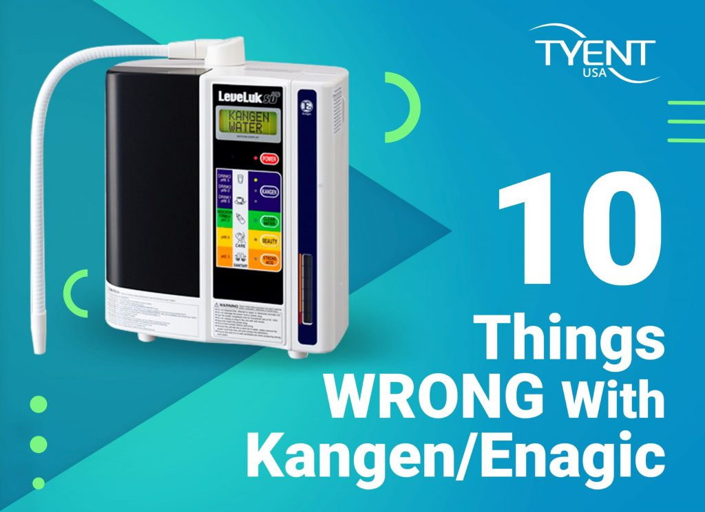 10 Things Wrong With Kangen/Enagic