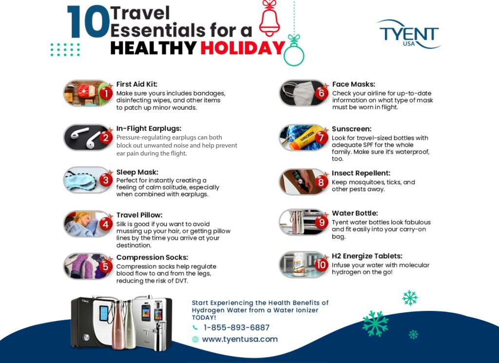 10 Travel Essentials For A Healthy Holiday
