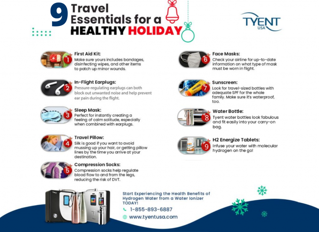 9 Travel Essentials for a Healthy Holiday