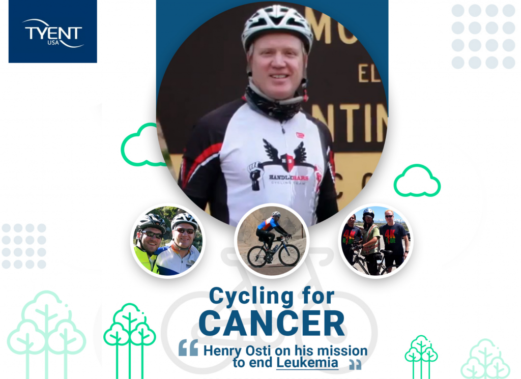 Cyclling for Cancer - Henry Osti