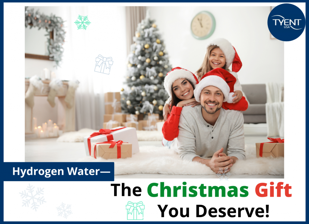 Hydrogen Water – The Christmas Gift You Deserve