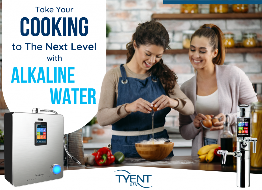 Take Your Cooking to The Next Level with Alkaline Water
