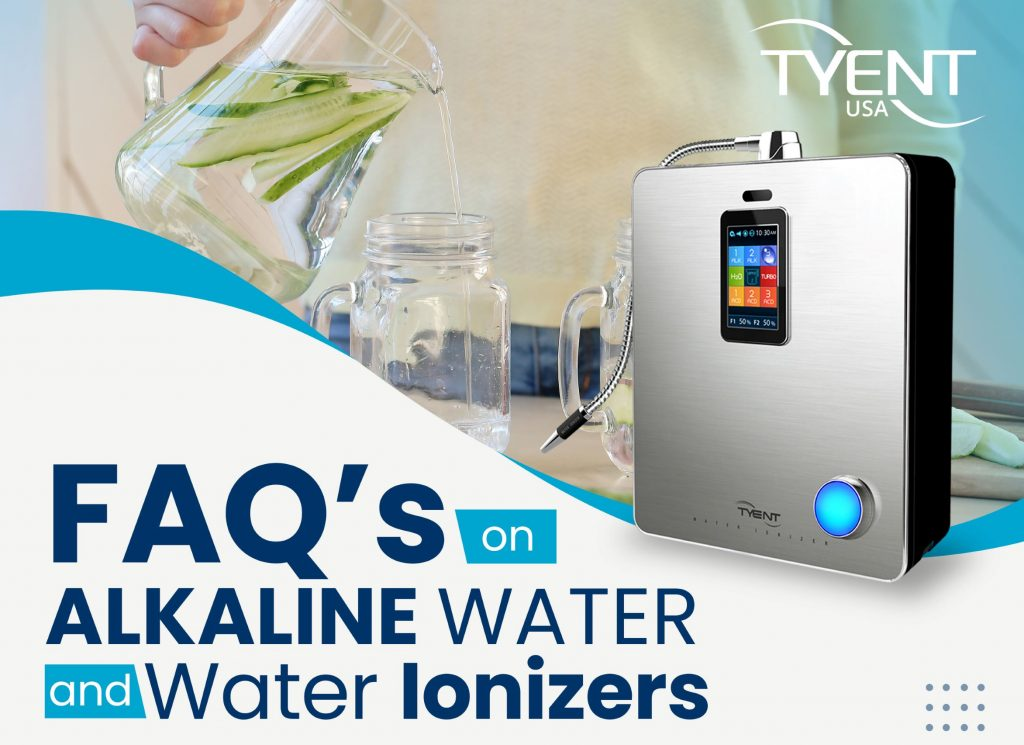 FAQs on Alkaline Water Water Ionizer Machines