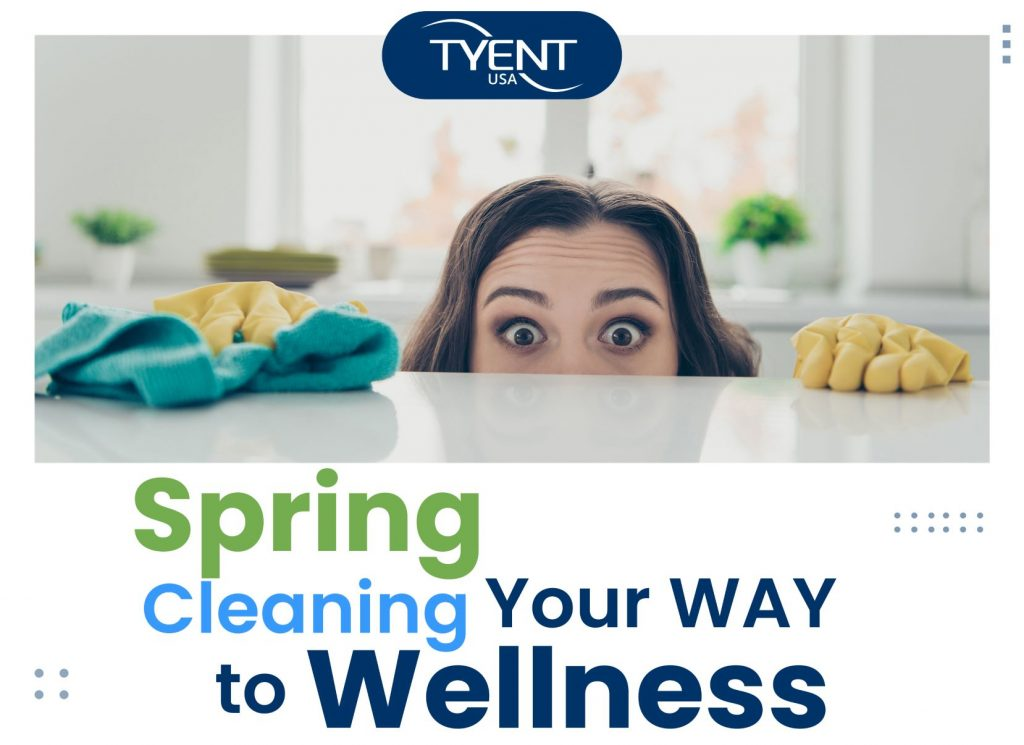 Spring Cleaning Your Way to Wellness