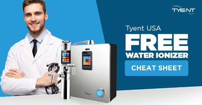 Water Ionizer Cheat Sheet