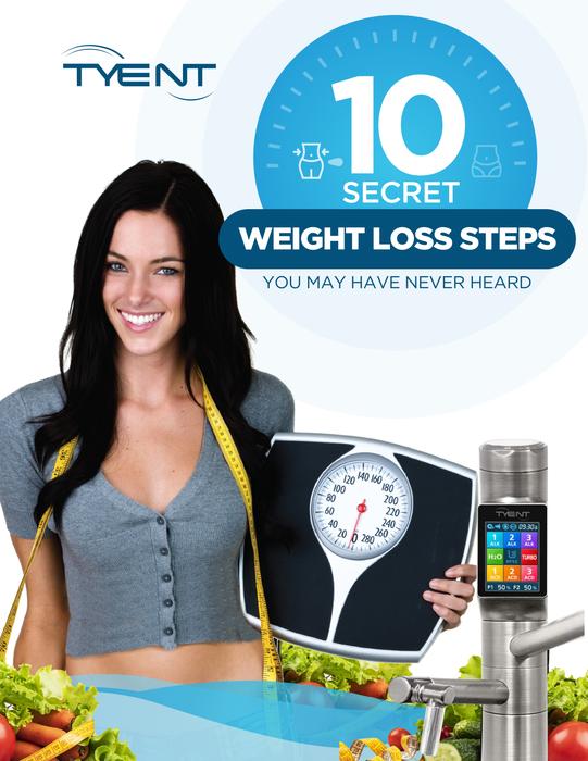 10 secret weight loss steps