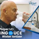 Dr. Howard Peiper MD Using His UCE Water Ionizer