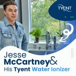Jesse McCartney & His Tyent Water Ionizer [UPDATED WITH PHOTOS!]