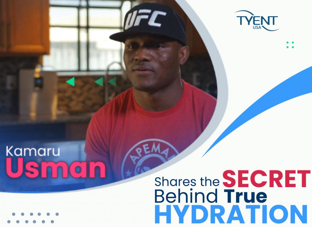 Kamaru Usman shares The SECRET Behind True Hydration