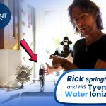 Rick Springfield and his Tyent Water Ionizer