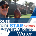 Tom House Trains Star Athletes with Tyent Alkaline Water