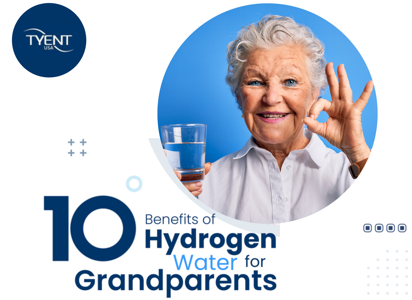 10 Benefits of Hydrogen Water for Grandparents