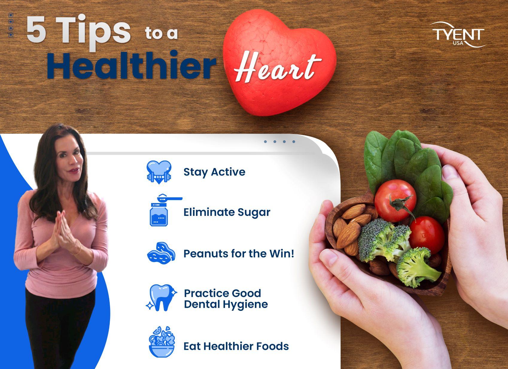 5 Tips to a Healthier Heart