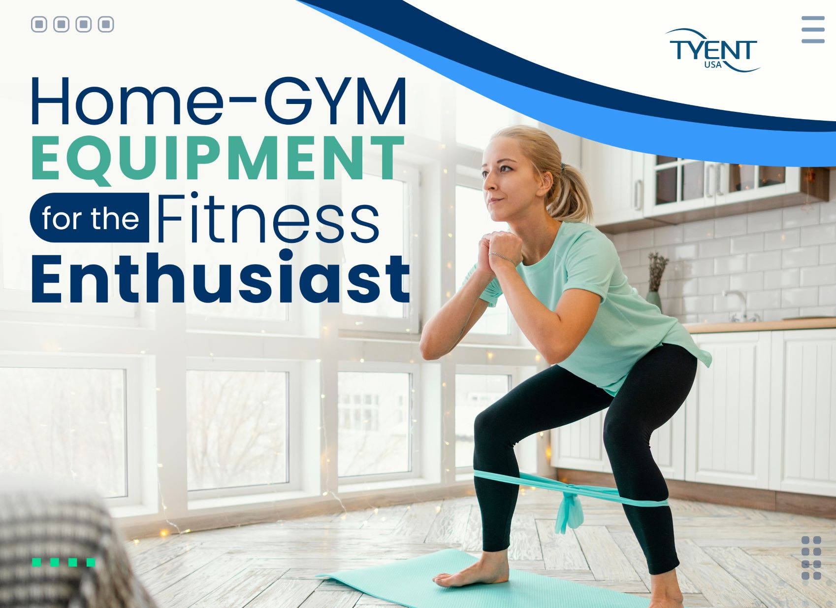 Basic Home Gym Equipment for The Fitness Enthusiast